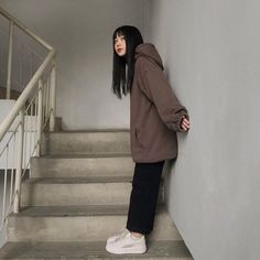 Aesthetic Grunge Outfit, Aesthetic Fashion, Aesthetic Clothes, Cute Comfy Outfits, Cool Outfits, Casual Outfits, Fashion Outfits, Korean Outfits, Retro Outfits