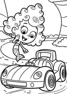 Deema Like Gils Car In Bubble Guppies Coloring Page : Coloring Sun Colouring Pages, Coloring Pages For Kids, Coloring Books, Bubble Guppies Coloring Pages, Guppy, Online Coloring, Car Ins, Taxi, Bubbles