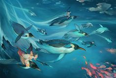 Under the sea by ELK64.deviantart.com on @deviantART