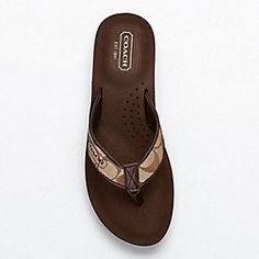 fad9c5523b9b5 Jolie Coach flip flop. love it I have these and I LOVE them.