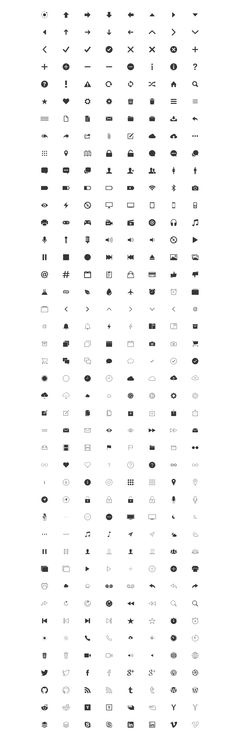 Free Icons for Web and User Interface Design # 22
