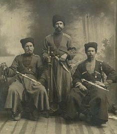 The Kuban Cossacks. Photo of the XIX century / Кубанские казаки. Фото XIX века.