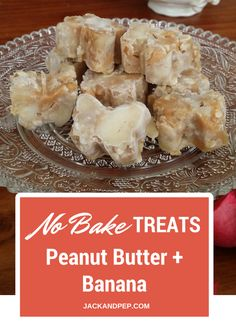 My dog goes mad for these homemade peanut butter and banana dog treats o.O And the best part is they are SUPER quick and easy to make - check out jackandpep.com