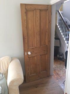 Reclaimed Victorian/Edwardian/Deco 4 panel beaded stripped pine internal doors.   eBay Pine Internal Doors, Victorian, Deco, Ebay, Decor, Deko, Decorating, Decoration