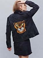 Denim Tiger Jacket at Free People Clothing Boutique