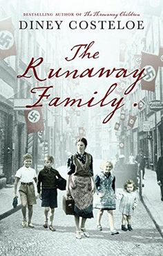 The Runaway Family by Diney Costeloe, (Couldn't put this book down. Really interesting story of what happened in Austria in years past. Ended a little bit abruptly. but excellent read. Great Books To Read, I Love Books, Good Books, My Books, Book Club Books, Book Lists, Holocaust Books, Historical Fiction Books, Historical Romance