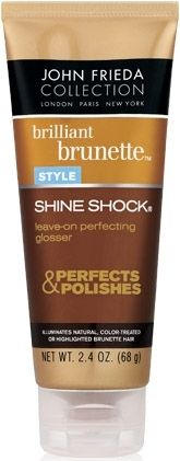 John Frieda Brilliant Brunette Shine Shock Leave-On Perfecting Glosser 75 ml hakkında kapsamlı bilgilere bu sayfadan ulaşarak bilgi sahibi olabilirsiniz.