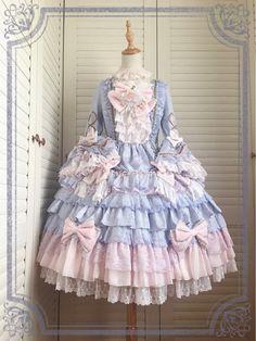 Chinese Lolita's Antoinette Princess Dress