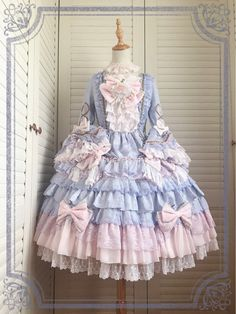 Chinese Lolita's Antoinette Princess Dress