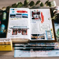 This Senso-ji illustration remains one of my absolute favourites 🤗😙 Bullet Journal Travel, Bullet Journal Writing, Travel Journals, Bullet Journals, Art Journals, Journal Diary, Journal Notebook, Bullet Art, Calendar Journal