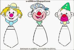 Cosetes per treballar el circ! Circus Font, Circus Theme, Circus Party, Clown Cirque, Le Clown, Carnival Activities, Math Activities, Theme Carnaval, Clown Crafts