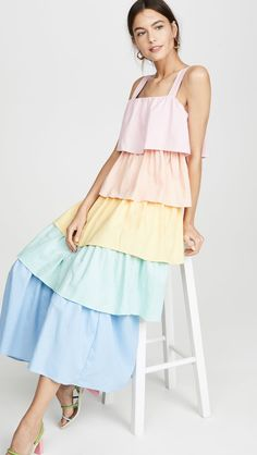 Find Your Favorite! 83 New Dresses So Pretty, We'll Just Take Out a Loan and Buy Them All Simple Dresses, Cute Dresses, Casual Dresses, Fashion Dresses, T Dress, Summer Dresses For Women, Dress Summer, Fashion Sewing, Designer Dresses