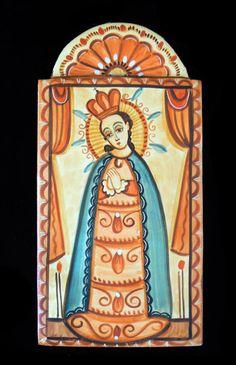 Religious Images, Religious Art, Colonial Art, Spanish Colonial, New Mexico Style, Spanish Art, Spirited Art, Southwest Art, Catholic Saints