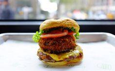 Chesse n' Shroom Burger - Shake Shack, NY