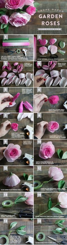 lia griffith paper flowers - Google Search
