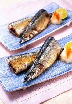 """""""Pacific saury grilled with salt """" - japanese recipe/これで出来る、さんまの塩焼き"""