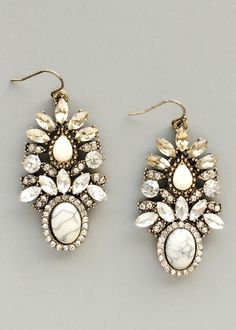 Antiqued Hera Earrings – Pree Brulee