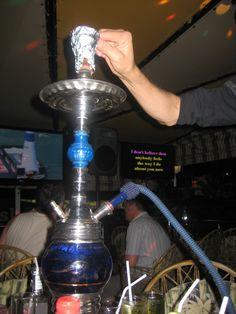 Some Irish pub at Playa del Inglés, 2009. Waterpipe and karaoke! One of the best nights!
