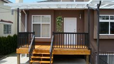 Small Front Deck