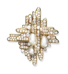 Form Design, Diamond Brooch, Bvlgari, Diamond Cuts, Pearls, Jewelry, Jewels, Schmuck, Jewerly