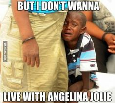 I don't want to live with Angelina Jolie Third World Problems, Funny Cute, Hilarious, Casey Anthony, Funny Captions, Funny Animal Memes, Angelina Jolie, Just For Laughs, Best Funny Pictures