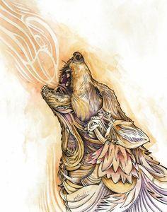 Watercolor Animal Series by Joe Pimentel at Coroflot.com