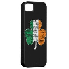 Awesome, Best-selling Distressed Shamrock Irish Flag iPhone 5 Case!  Choose this design on a light or tough iPhone 5 case.  The Tough case, also enhances your iPhone external speaker!