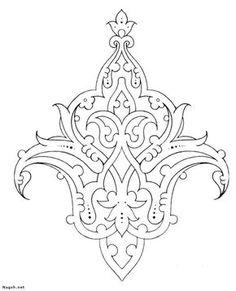 phoca_thumb_l_aslimy-nagsh – Best Stylish Motifs Islamiques, Islamic Motifs, Islamic Art Pattern, Persian Motifs, Stencil Patterns, Doodle Patterns, Pattern Art, Hand Embroidery Designs, Embroidery Patterns