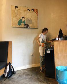 wchodzę do miejsca gdzie kolejka  łamie się w połowie #bitamina #tacosy #charlotte #warsaw #wwa #warszawa #working #waitress #breakfast #frenchcuisine