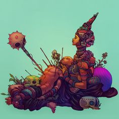 Raúl Urias - a visual artist and illustrator currently based out of Mexico City.