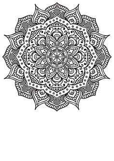 Lecture d'un message - mail orange coloriage mandala, dessin coloriage Mandala Design, Mandala Art, Mandalas Painting, Mandalas Drawing, Mandala Coloring Pages, Mandala Pattern, Zentangle Patterns, Coloring Book Pages, Zentangles