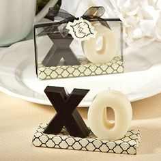 XO Candle Favors