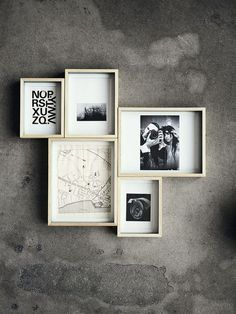 Close together | Art Wall | Pinterest / Art Wall / ideas / inspiration / frame composition / frame layout