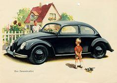 KDF-Wagen. - Meurer, A. (Hrsg.) . Ein Handbuch vom KDF-Wagen.  Berlin um 1939.