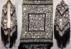 This shawl is really special, I wish it was in my collection!