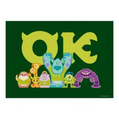 OK - Scare Students Print | Monsters University