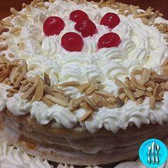 Pastel de nata con almendras