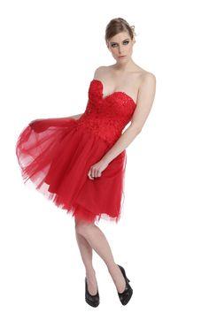 Robe Rouge Tango - Chic et Mignonne
