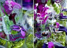 thème vert et violet ...