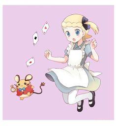 Dedenne. Bonnie. Pokemon XY. #anime