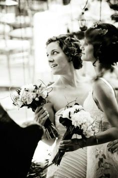 Lesbian Wedding - Beautiful style and very stylish black/white photo. Lesbian Wedding, Lesbian Love, Wedding Pictures, Lesbian Couples, Wedding Ideas, Wedding 2015, Two Brides, Girls In Love, Happy Girls