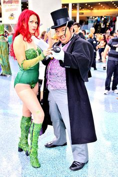 Poison Ivy & Penguin Cosplay