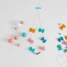 Le célèbre collier de nouilles - needles necklace - Marie Claire Idées