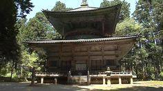 世界文化遺産・高野山. 2012年8月