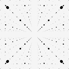 INFINITE DOTS I think I've had a dream just like this before. via Don Barnett. beesandbombs