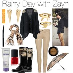 Rainy Day with Zayn - Polyvore