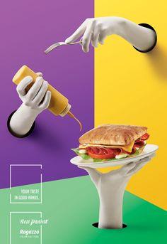 Ragazzo: New Paninos, 3 | Ads of the World™