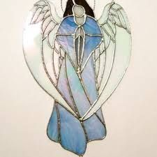 Image result for stained glass angels patterns