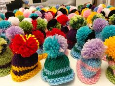 """@swml83 """"Coming your way today @age_uk for the #BigKnit"""""""