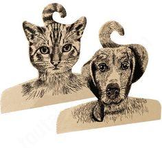 idée cadeau noël cintre chien chat